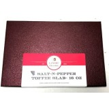 Salt-N-Pepper Toffee Slab - 16 oz